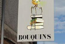 Le Rayon... Bouquins / Bouquinerie associative spécialisée au Village du Livre d'Ambierle = 12 000 ouvrages d'occasion jotaboulet@orange.fr