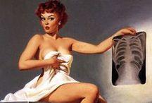 Vintage & Pin Ups / 40's Boudoir Inspired