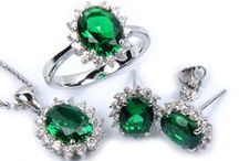 Emeralds / Actual emeralds or emerald-colored things :)