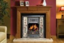 Fireplaces and Stoves / A small selection of our fires and stoves at our 1700ft showroom