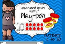 Play-Doh Centers