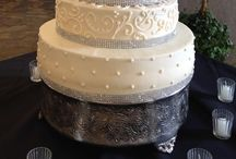 Wedding cakes / Ideas for wedding cakes! Some in odd colors, but love the design.  / by Lauren Bantz