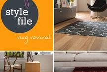 Style file: Rug revival / An easy way to transform the look in one or more of your rooms this weekend is with a new rug.  With so many options to select from, Stylist Kylie Jackes shares her tips on finding the right rug for your space: http://www.choicesflooring.com.au/blog/rug-revival/