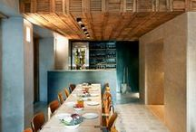 BARY, restauracje w płytkach cementowych