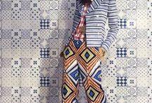 Inspiracje - MODA / Motywy z marokańskich płytek cementowych i ceramicznych w high fashion i modzie ulicznej.