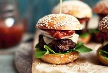 Burgers, Sandwiches and Wraps