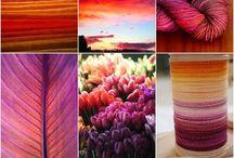 Color, yarn / cudna włóczka i kolory