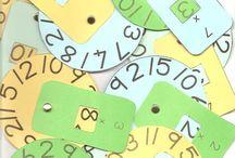 Μαθηματικά / Κατασκευές και tips για τη διδασκαλία των μαθηματικών!