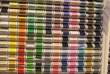 Threads, Threads and (yes) More Thread / I you are looking for that perfect color thread to enhance and complete you sewing project come in, we have lots. / by Material Mart