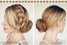 Kauniit kampaukset - pitkille hiuksille