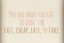 Olet mitä syöt / Ruokaideoita, reseptejä, herkkuja...