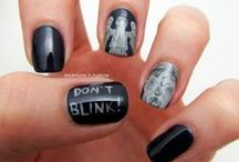 Doctor Who Nail Art / All of my Doctor Who inspired Nail Art manis