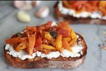 food on toast