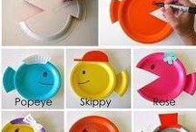 DIY pour les enfants / Des petites bricoles à faire avec les enfants amusants et ludiques