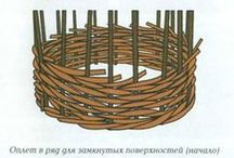 сад плетение из лозы, перголы