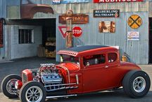 Custom cars / A collection of super cool custom made automobiles / by CampagKid