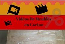 Vidéos Meubles En Carton / Toutes les vidéos sur les meubles en carton