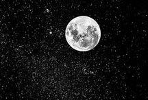 monochromatic black and white