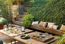 Outdoor dining/Space