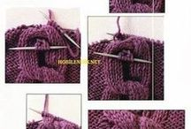 KNITTING TIPS AND STITCHES
