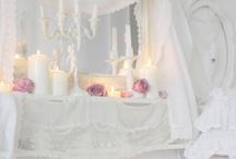romantic white style