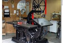Classic Woodworking Machines / Old School, Heavy Duty, Industrial Woodworking Machines