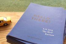 Hand book&NEWS / 2013A/W Hand book
