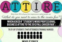 Career Fair / Tips for preparing and acing your career fair.