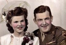 WW11   Weddings... / Reminds me of my Mum and Dad…who were married in London…Jan.2nd…1943 a Canadian soldier and his British bride…Mum and I came over to Canada in 1945..