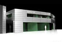 Office designed for Romcar / Office building designed for Romcar