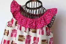 Holčičí / šaty, šaty, šatičky a vše kolem šítí, vzory, střihy, návody