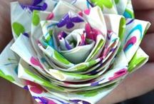 Papierowe cuda / pomysły na ciekawe ozdoby, upominki, opaowania i dekoracje z papieru