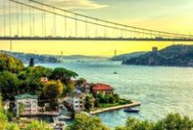 Bosporus - Bosphorus / Amazing pictures from Bosphorus or Bosporus. A strait that forms part of the boundary between Europe and Asia.