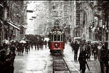 Snow in Istanbul - Constantinople / The best pictures of Istanbul - Constantinople with snow. White City