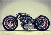 Bobber, Cafe Racer And Bikes Inspirations / by Tom Newman