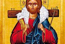 """MALARSTWO: Dobry pasterz / """"Ja jestem dobrym pasterzem. Dobry pasterz daje życie swoje za owce. """" J 10, 11"""