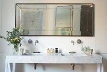 B A T H / Bathroom design inspiration.