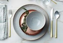 D I S H E S + C O O K W A R E / Elegant and Modern dishes and cookware for the home.
