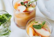 D R I N K + C O C K T A I L S / Recipes for refreshing cocktails. Inspiration for your next dinner party!