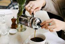 C O F F E E / Coffee, lattes, beans.