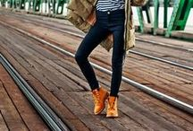 AW15 - Timberland / Hent inspirasjon til styling av dine Timberland boots! How to style your Timerland boots.