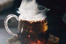 T E A / Tea time! Tea cups and pots, tea leaves and more!