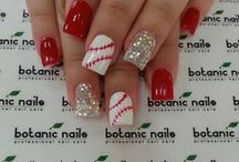 Sports Nails / Of course I am partial to Alabama -- Roll Tide ! But there are nails for other sports as well.