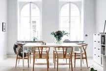 D I N I N G / Inspiration, furniture and design for the dining space in your home.