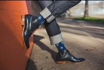 SS16: Look Book - For Him / Change your luck. Change your socks. Unique designer socks for stylish people looking to get lucky. Only at http://www.goodlucksock.com