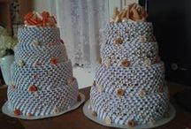 3D origami birthday cake