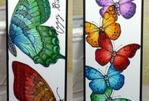 Bookmarks / Ideas for creating stamped and embossed bookmarks