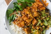 Vegan Dinner Recipes / This board contains plant-based, vegan dinner recipes for you to use to make cruelty-free meals.