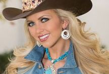 Rodeo Royalty - Queens & Princesses / Sometimes a gal is involved in riding the rough stock at a rodeo, but usually she's involved in the Rodeo Queen contest or barrel racing.  This board has inspiration outfits for Queens / Princesses.  As well as make up and question tips.  Good luck!