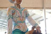 Horse Show Clothing / Examples of beautiful horse show clothing.  I had some beautiful outfits when I showed horses, but nothing like these dazzling items.  Hope these pictures inspire you.  If you have pictures of your own, please send them to me.  Thanks.